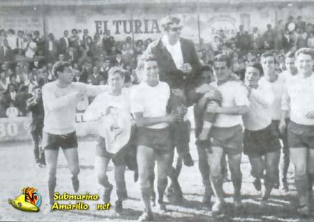 ahombros - Villarreal CF en los años 60
