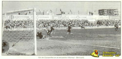 causanilles - Villarreal CF en los años 60