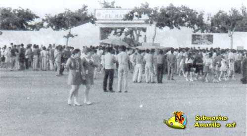 colas - Villarreal CF en los años 60