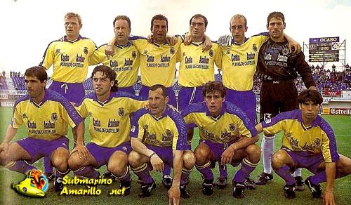 formacion - Ascenso del Villarreal a primera 97/98