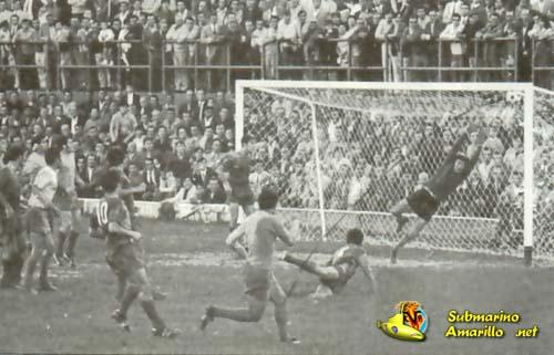 gooool - 1970 debut en Segunda del Villarreal