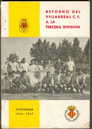 portada - Villarreal CF en los años 60
