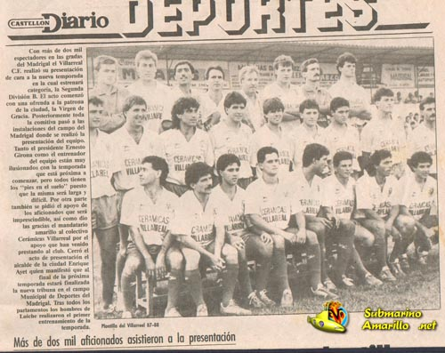 presentacion 8788pequeo - El Villarreal en Segunda B