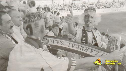 ambiente ascenso 2000 - Retorno a primera del Villarreal CF (99/00)