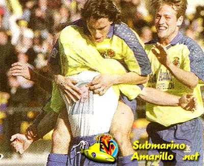 gol de diaz - Ascenso del Villarreal a primera 97/98