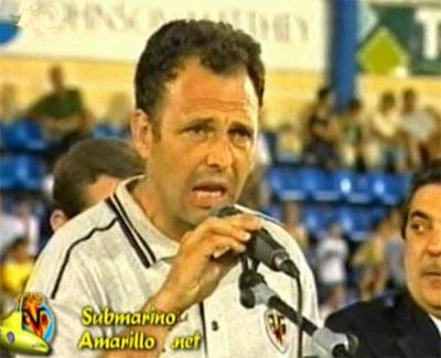 joaquin caparros - Retorno a primera del Villarreal CF (99/00)