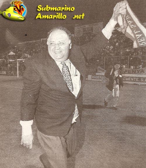 llaneza euforico - Ascenso del Villarreal a primera 97/98