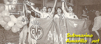 orgullo - Ascenso del Villarreal a primera 97/98