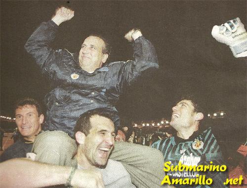 presi en compostela - Ascenso del Villarreal a primera 97/98