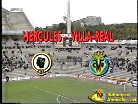 curiosidad copia - 1992 Canal 9, un Hércules-Villarreal