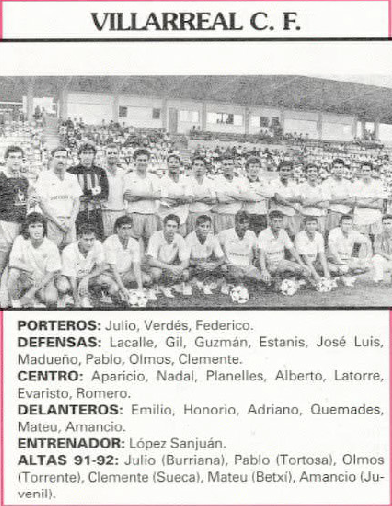 5y5ir7 - Ascenso del Villarreal a Segunda A 91/92