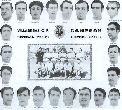 ascenso - Villarreal CF en los años 60