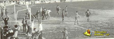 gol al mallorca e invasin - 1970 debut en Segunda del Villarreal