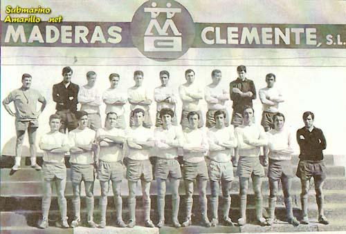 once del ascenso - Villarreal CF en los años 60