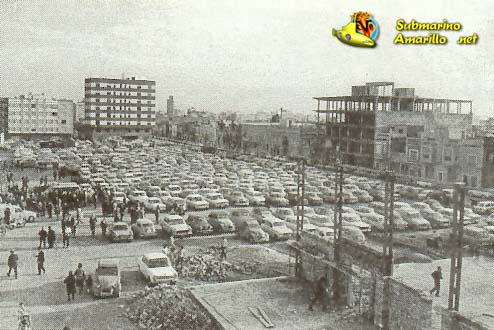 plaza calvario - 1970 debut en Segunda del Villarreal