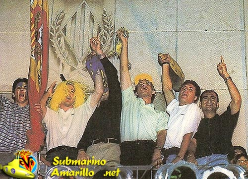 festejo - Ascenso del Villarreal a primera 97/98