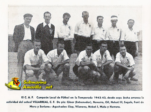 foghetecaz42 43 - Fundación del Villarreal CF