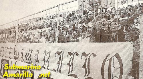 frente amarillo - Ascenso del Villarreal a primera 97/98