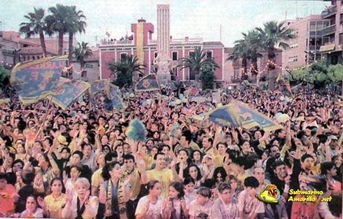 major - Ascenso del Villarreal a primera 97/98