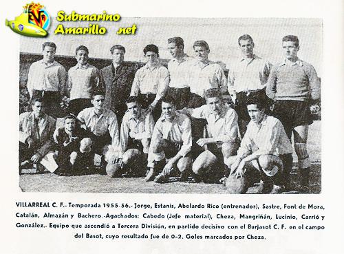 primer ascenso a tercera division - Fundación del Villarreal CF