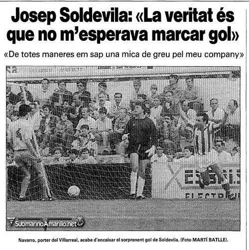 gol de soldevila a navarro - Otra vez el Girona FC en el camino (2012/13)