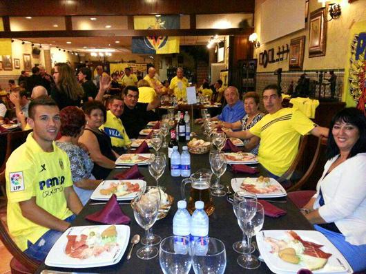 """pardalsgrocs - """"Es un orgullo formar parte de la primera peña del Villarreal en la Vall"""""""