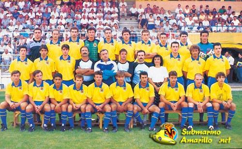 villarreal94 95 - El Villarreal empezó una nueva etapa (temporada 94/95)